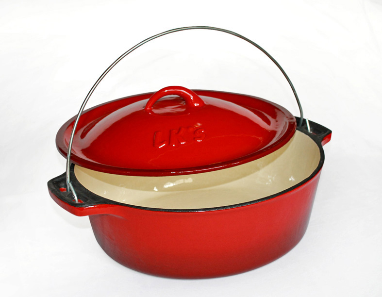 lk&rsquos-bake-pot-red-enamel-no-12	-14521