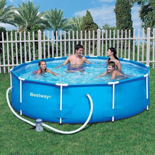 bestway-305-x-76cm-steel-pro-frame-pool-set---56408spring-savings