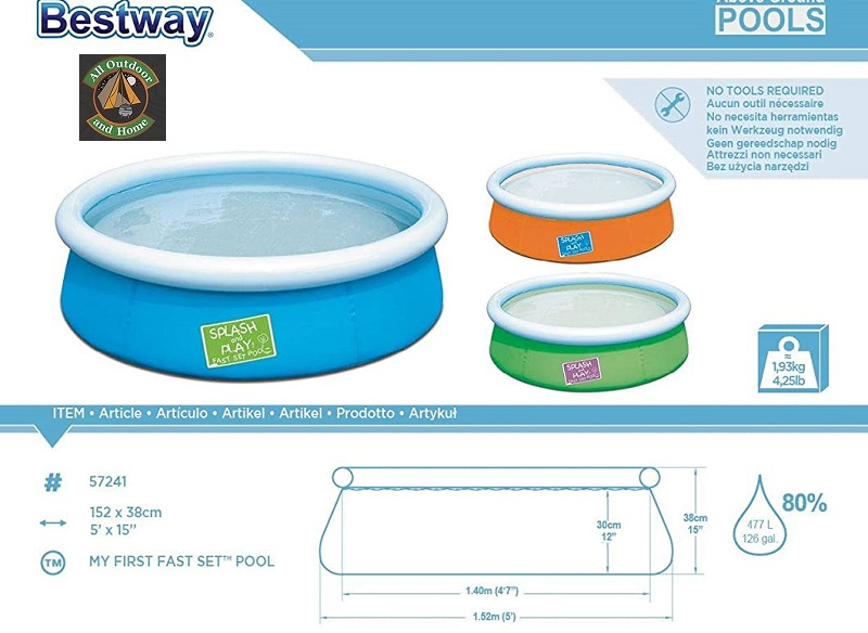 bestway-my-first-fast-set-pool-152cm-x-38cm-477l-no-pump-&amp-filter-57241