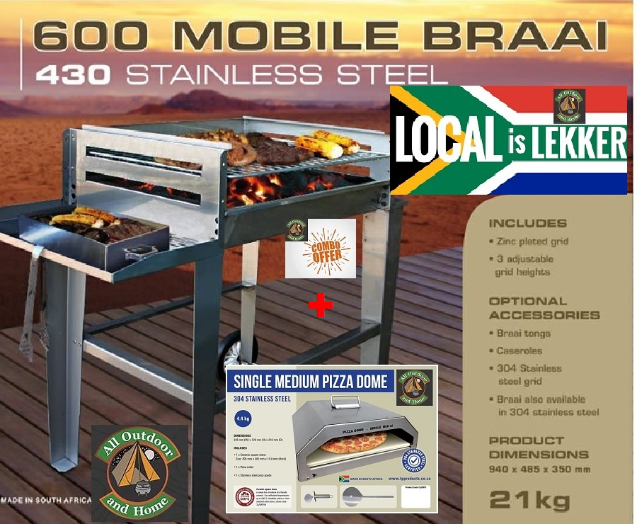 tp-combo-the-stainless-steel-pizza-single-dome-medium-plus-a-mobile-600-braai-