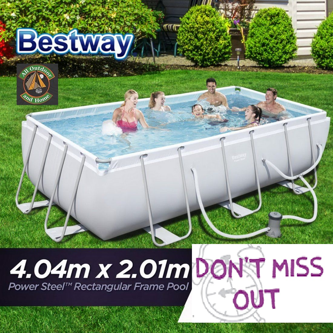 new-bestway-power-steel&trade-rectangular-frame-swimming-pool-set-404m-x-201m-stock-available-early-september