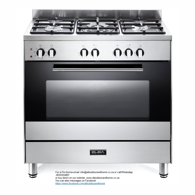 elba-80cm-classic-gas-electric-cooker-85cx722n-5-gas-burners--1-triple-ring-burner