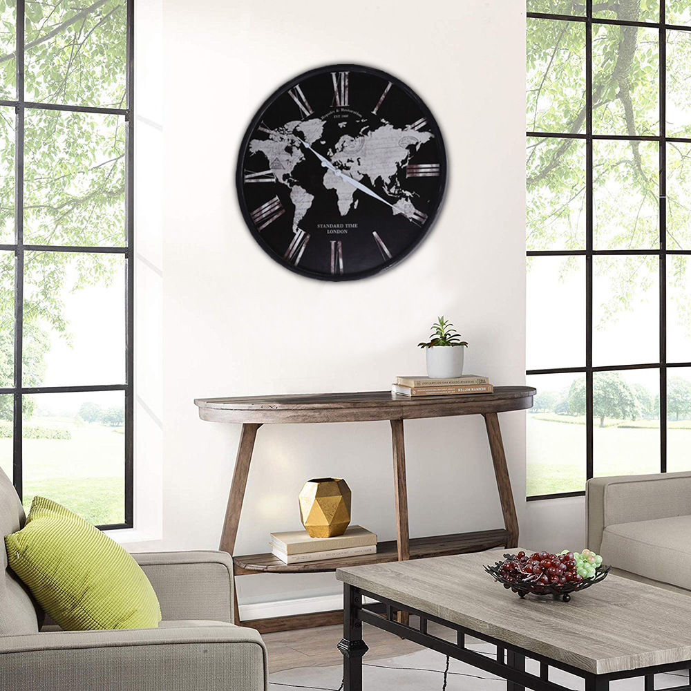 wall-clock-'global-metal-and-glass-hz1300640