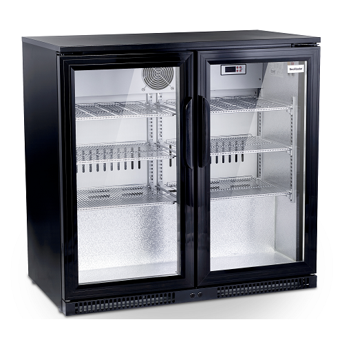 sd220-black-two-door-alfresco-beverage-cooler-size-870-w-x-500-d-x-850-h-capacity-220-litres