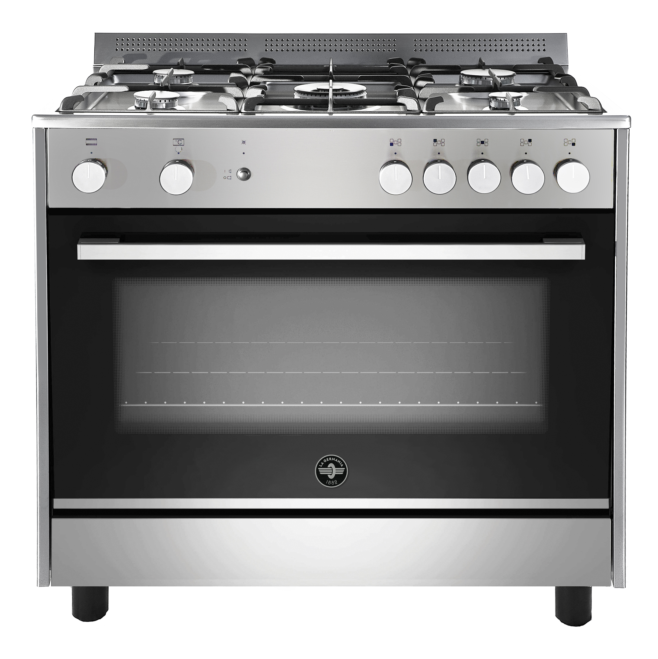 la-germania-900-mm-parma-5-burner-gas-electric-stove-stainless-steel-model-tus95c61ldxci