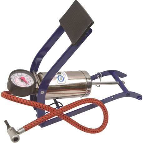 moto-quip--chrome-single-cylinder-footpump-&amp-gauge-mq7205
