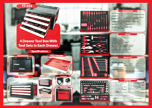t7-054-tool-set-4-drawer-135pcs