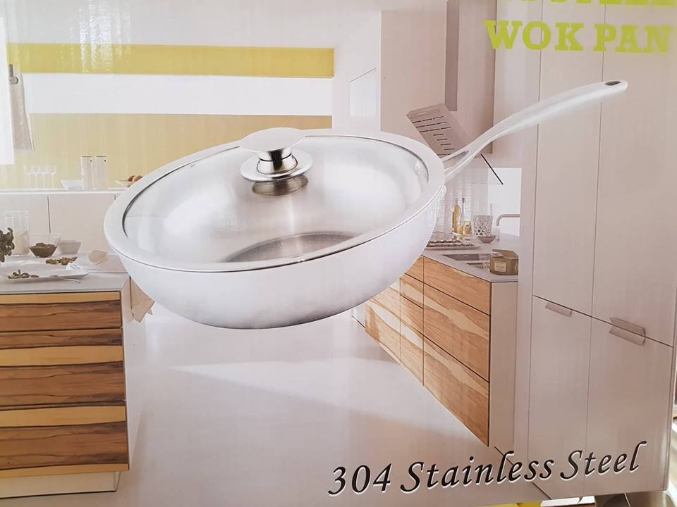 28cm-304-stainless-steel-wok-pan-with-glass-lid