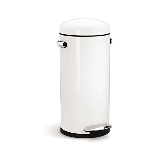 alva-30l-retro-step-can-white-by-simple-human-10-year-warranty-cw1259