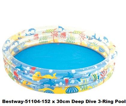 bestway-152-x-30cm-deep-dive-3-ring-pool-51004
