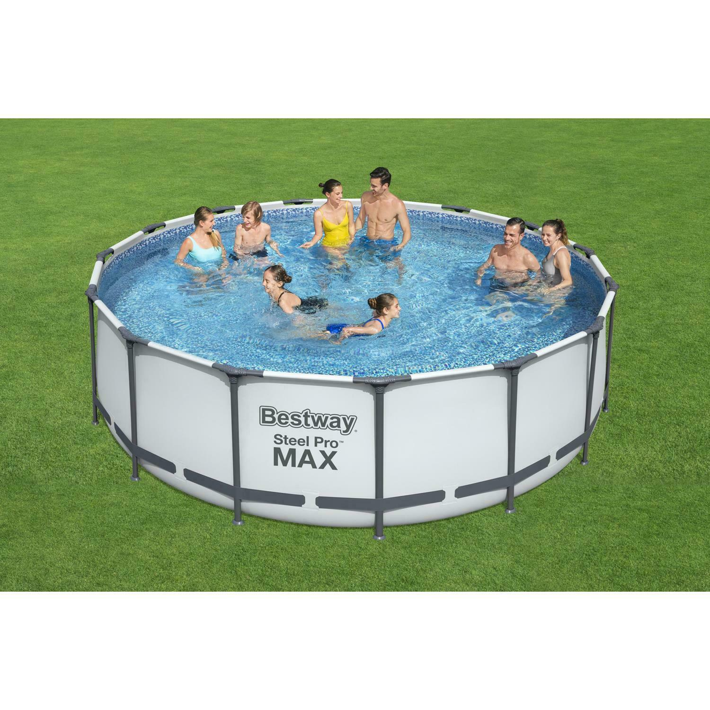 bestway-457cm-x-122cm-steel-pro-max-frame-pool-set-grey--16015-l-56438
