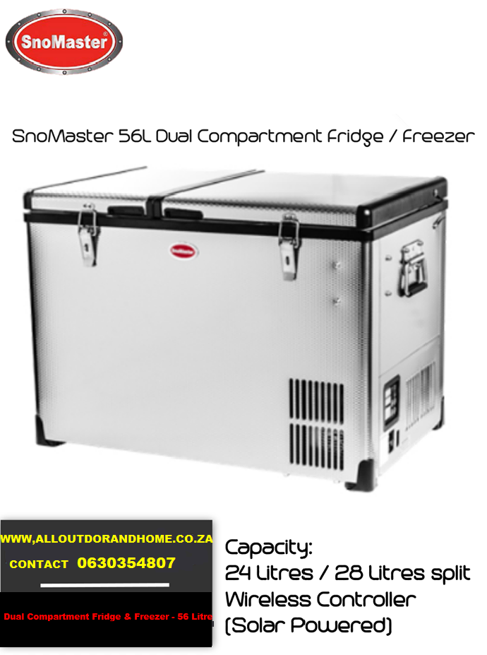 snomaster-56l-dual-compartment-stainless-steel-fridgefreezer-acdc-smdz-cl56d