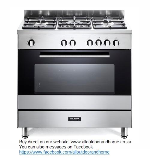 elba-classic-80cm-full-gas-cooker-85cx822n-5-gas-burners--1-triple-ring-burner