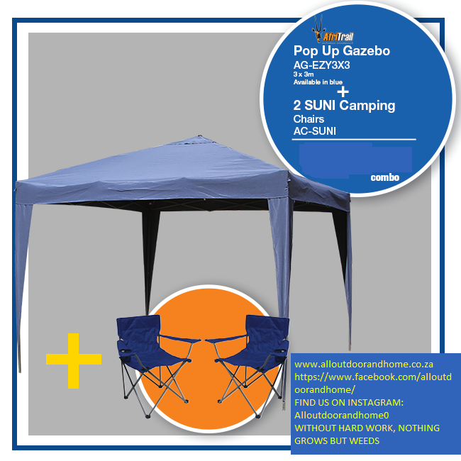 afritrail-3-x-3m-gazebo-&amp-camping-chair-combo-&ndash-blue-only