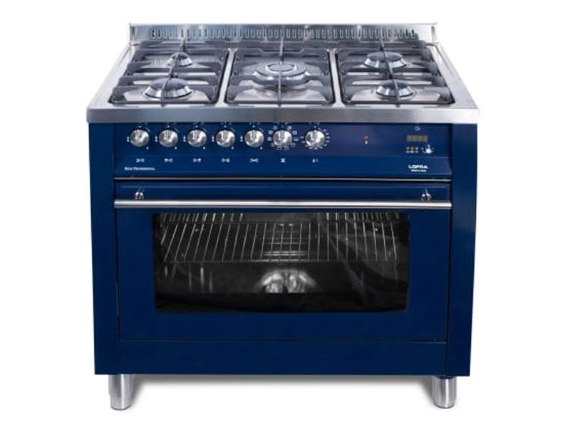lofra-electric-oven-with-5-burner-gas-top-&ndash-90cm-navy-blue-psblg96mftc