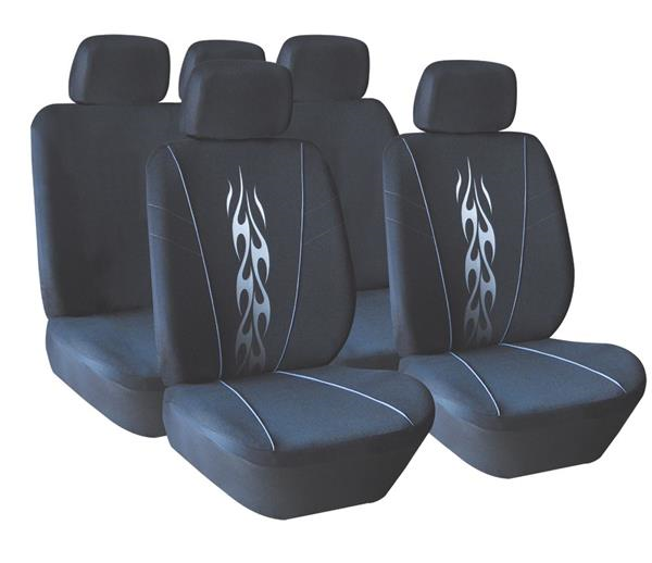 seat-cover-9pc-tribal-flame-black-s14-220b-