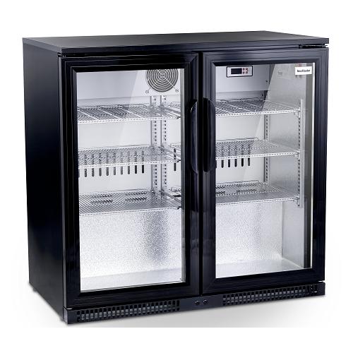 -snomaster-sd220-black-two-door-alfresco-beverage-cooler-size-870-w-x-500-d-x-850-h-capacity-220-litres