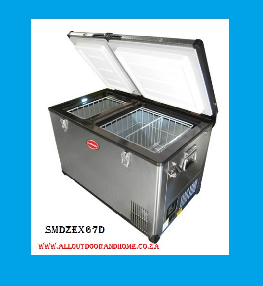 snomaster-66l-dual-compartment-stainless-steel-fridgefreezer-acdc-smdz-ex67d