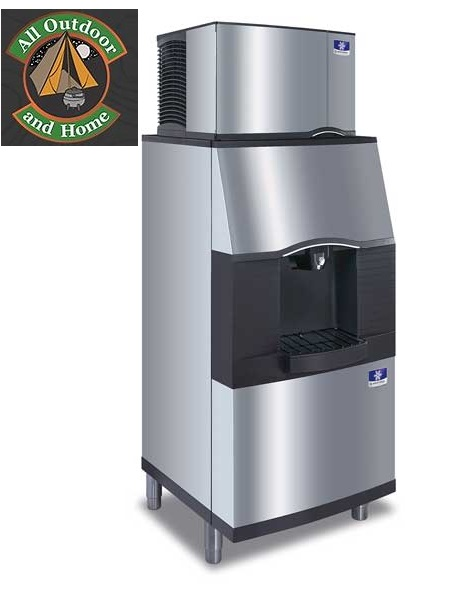 manitowoc-spa-310-ice-dispenser-designed-for-ice-bucket-filling-in-hotels-motels-and-resorts