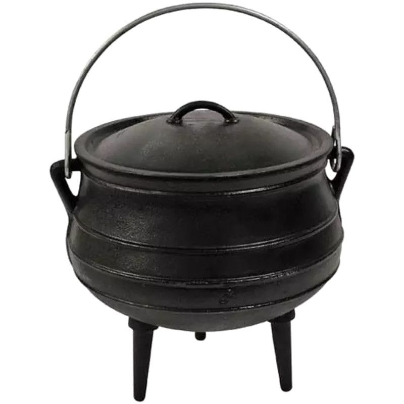afritrail-potjie-no3--cast-iron--new-78-litre--waxed-26x27cm-acw-p3