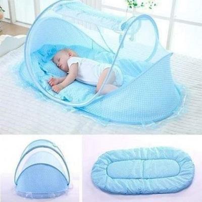 large-baby-sleeping-tent-&ndash-blue-pink