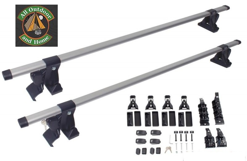 oval-aluminium-roof-bars-with-3-types-of-mount-fittings--134cm-length-6007-11