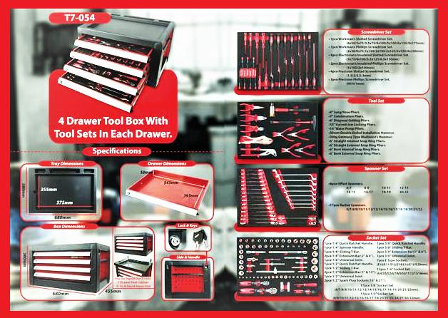t7-054-tool-set-4-drawer-135pcs